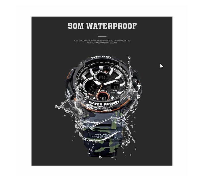 SMAEL A1708 Sports Watch / Men`s Watch - Khaki