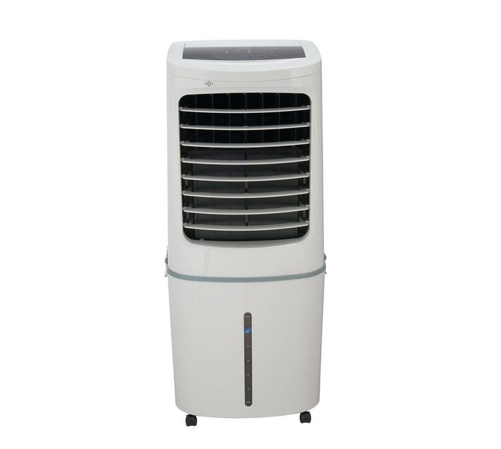 Midea - Air Cooler 50L with Remote & Ice Box - White