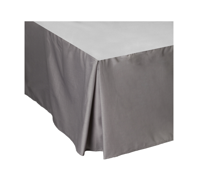 Primaries King Box Pleat Grey