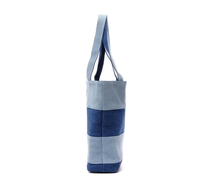 Instax Denim Handbag Smokey White