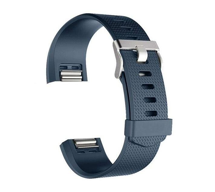 Zonabel Fitbit Charge 2 Silicone - Navy Blue (Large)