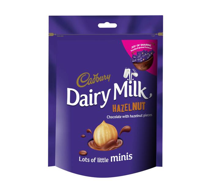 Cadbury Dairy Milk Bag Hazelnut Mini's (1 x 168g)