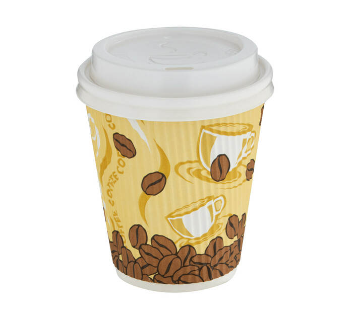 ARO Coffee Cup And Sip Lid (1 x 350ml x 50's)
