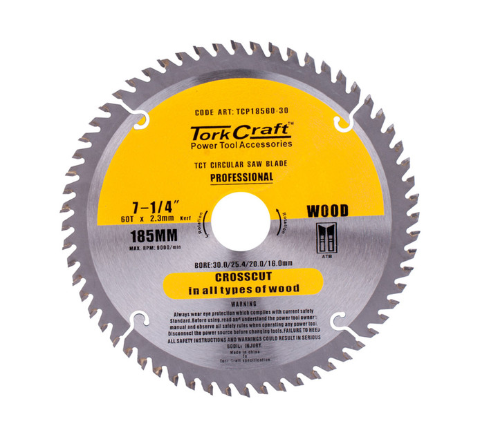 TORK CRAFT 185 x 60 T Circular Saw Blade