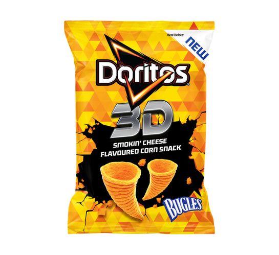 Doritos 3D Bugles Corn Snack Smokin Cheese (20 x 100g)