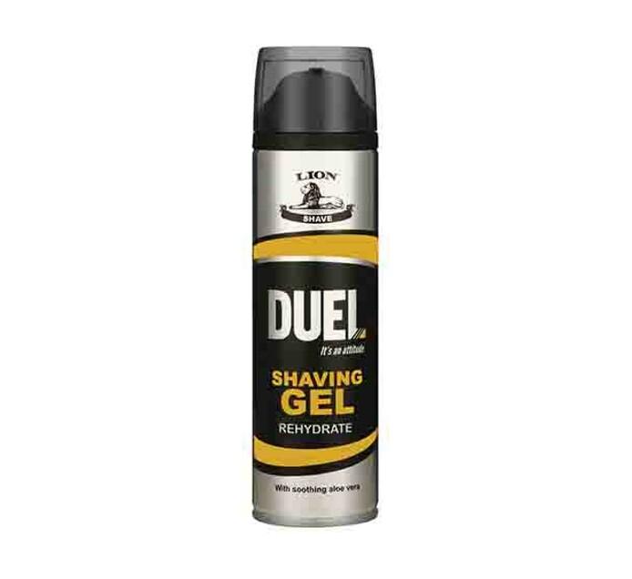 Duel Shaving Gel Rehydrate (6 x 200ml)