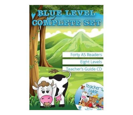 Duzi Bugs Blue Level Complete Set : Level 1 - 8 : Grade 2: Blue Level Readers