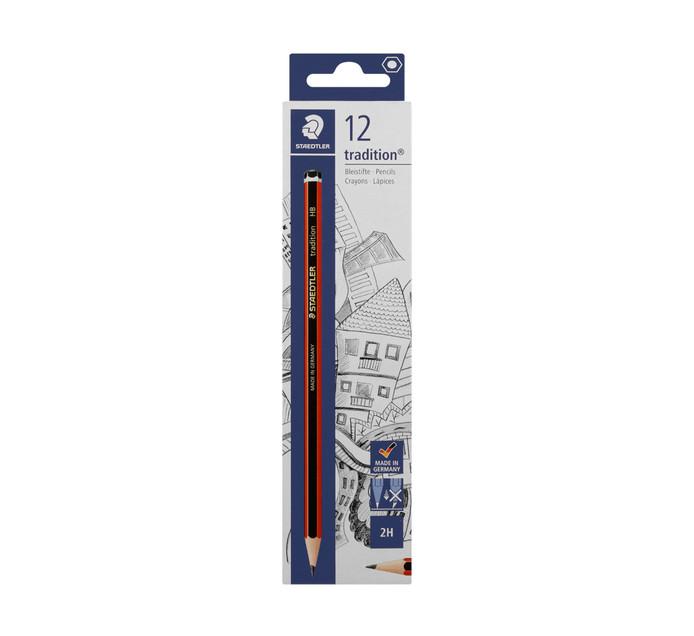 Staedtler Tradition 2H Pencils 12-Pack