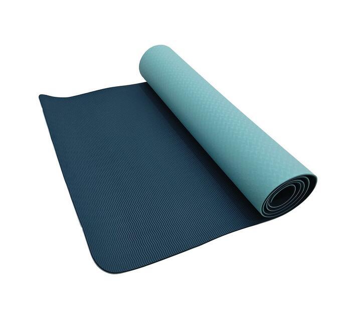 Volkano Active Non-Slip 5mm Thick TPE Yoga Mat in Mint