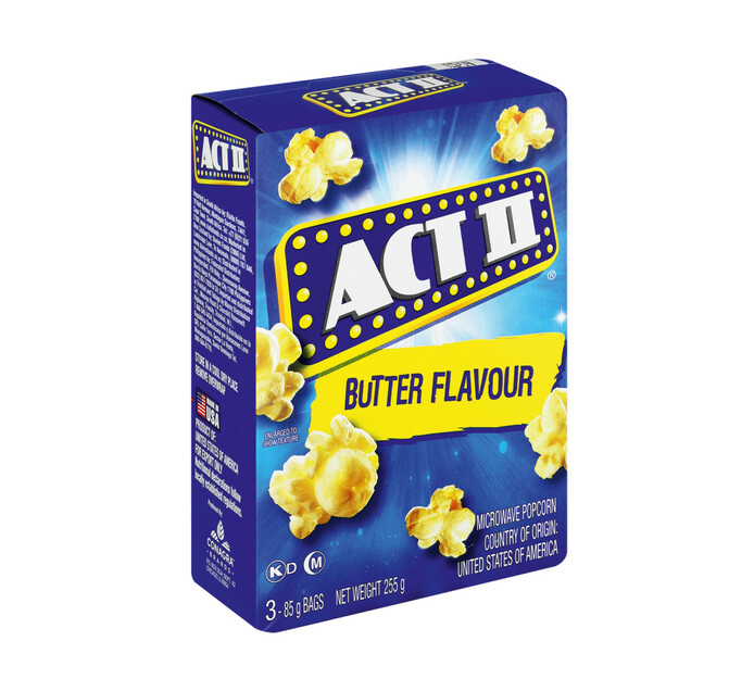 Act 11 Microwave Popcorn Butter (1 x 242g)
