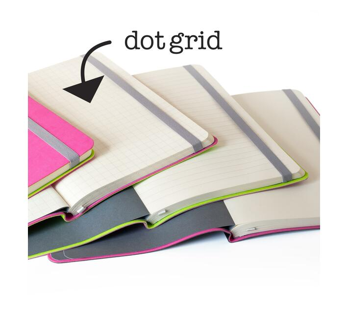 Flexi Softcover A5 Journals Dot Grid Pages - from the makers of MOM and WOW Diary