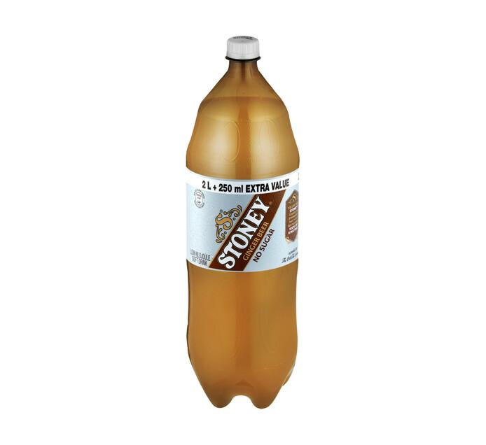 Stoney Ginger Beer Zero (1 x 2.25l)