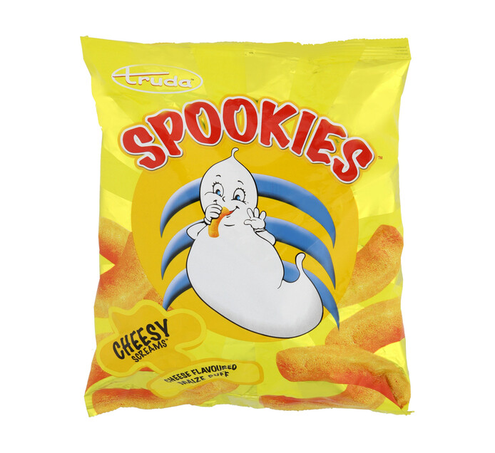 SPOOKIES CHIPS 50G, CHEESE