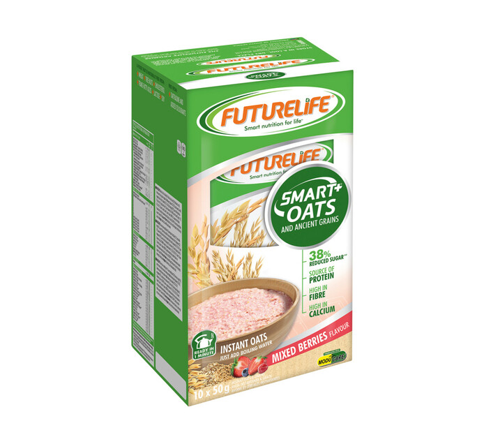 Futurelife Smart Oats And Ancient Berries Mixed Berries (10 x 50g)