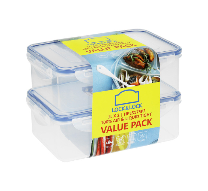 Lock & Lock 2 Piece food Container Set