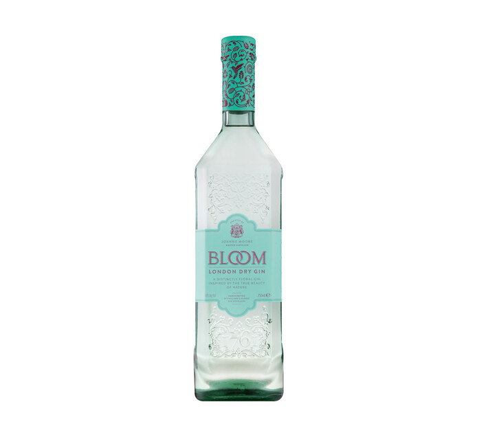 Bloom London Dry Gin (1 x 750ml)