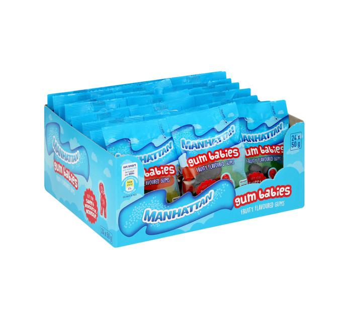 MANHATTAN Mini Prepacks Gum Babies (24 x 50g)