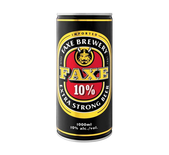 Faxe Extra Strong Beer (12 x 1L)