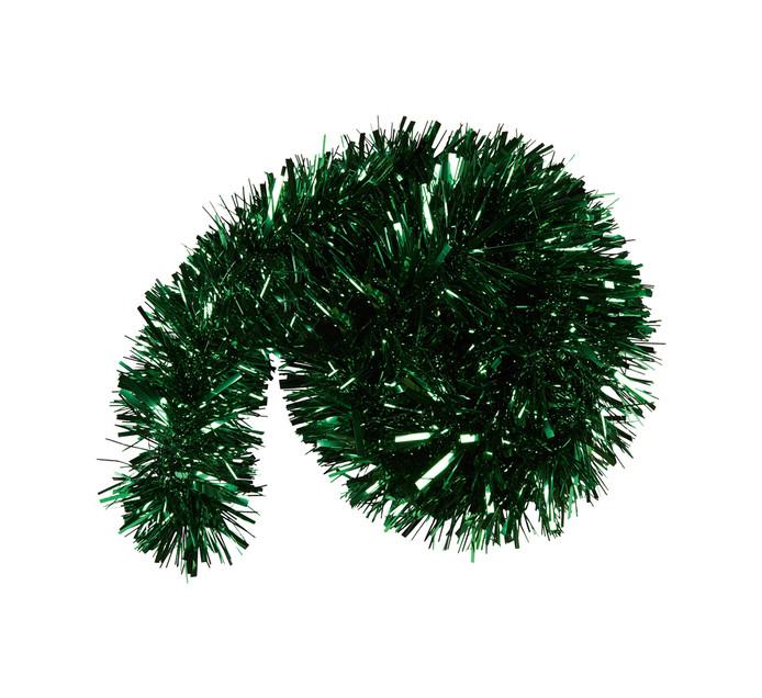 St Nicholas 2 m Green Chunky Tinsel