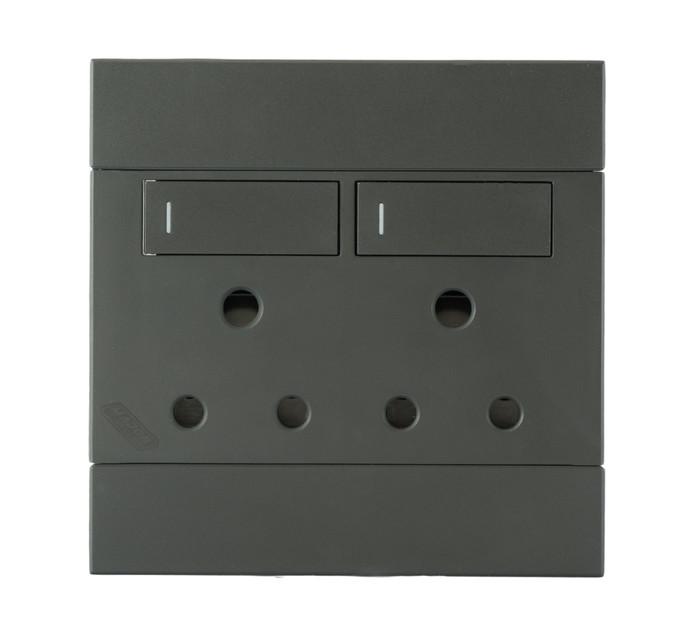Major Tech 100 mm x 100 mm Veti 2 Double Socket
