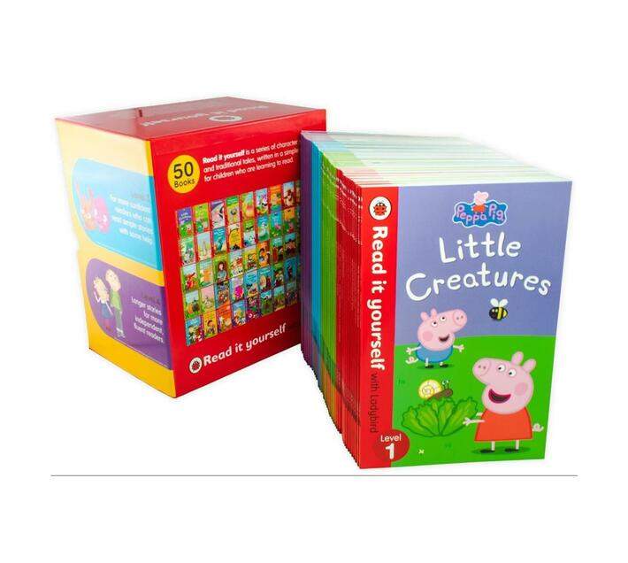 Ladybird Read It Yourself - Level 1 to 4 - 50 Books
