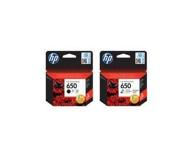 HP 650 Tri colour Catridge