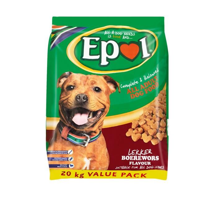 Epol Dog Food Boerewors (1 x 20kg)