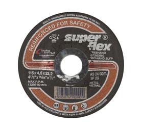 SUPERFLEX 115 x 4.5MM Steel Cutting Disc