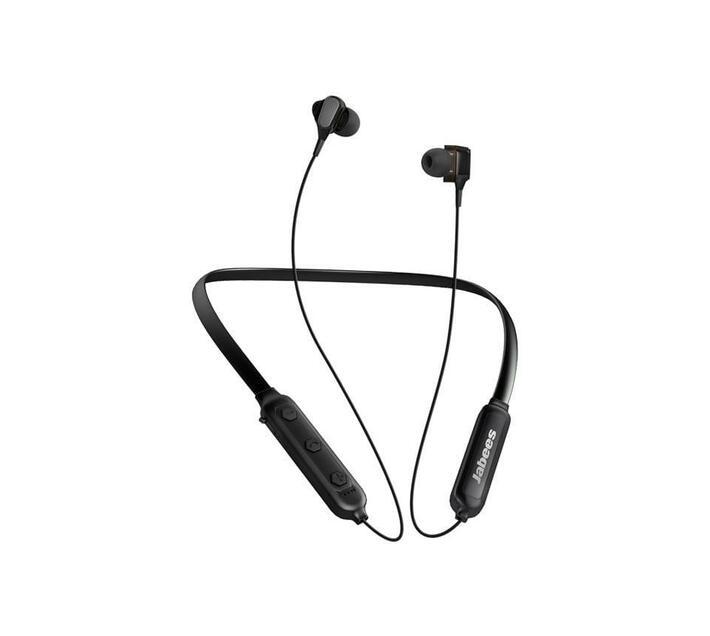 Jabees Duobees Bluetooth Neckband Headphones – Black