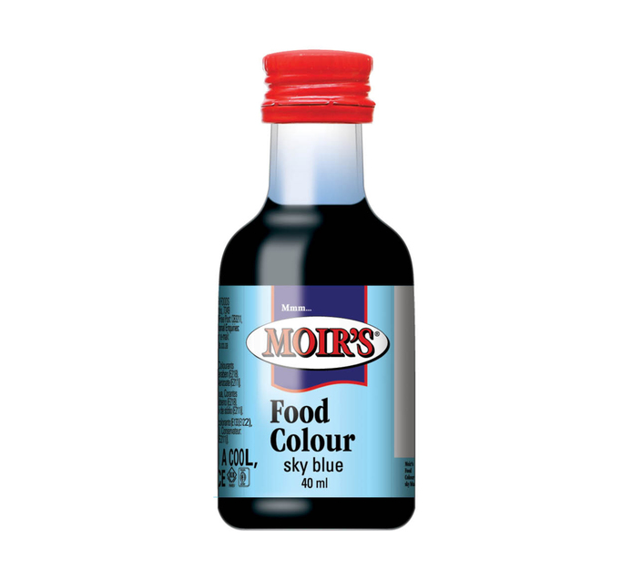 Moirs Flavouring & Essence Sky Blue (20 x 40ml)