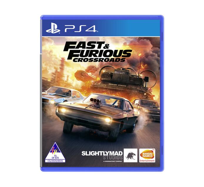 PS4 Fast & Furious Crossroads