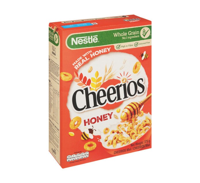 Nestle Cheerios Cereal Honey (1 x 375g)