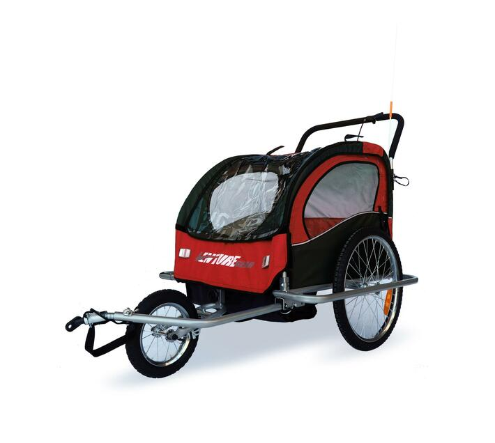 Venture Gear Childrens Trailer and Jogger 2 in 1 for Bicycles