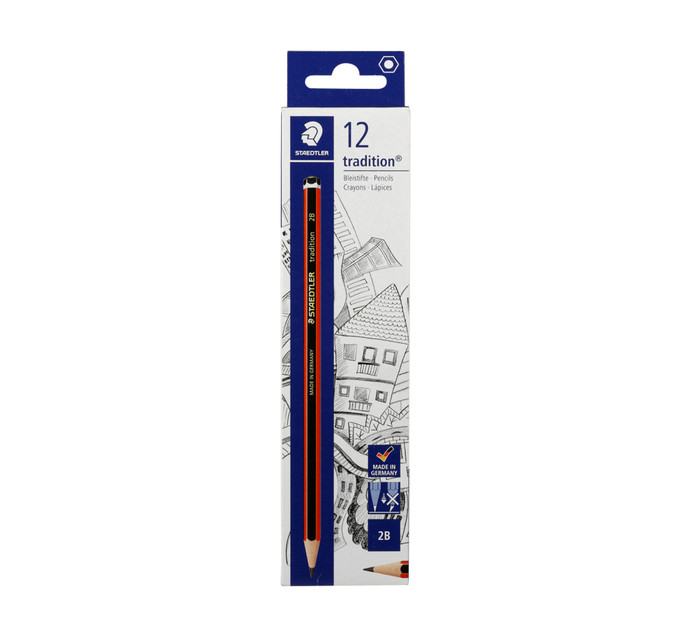 Staedtler Tradition 2B Pencil 12 Pack