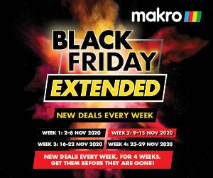 Black Friday 9 15 November View All Deals Makro Online Site